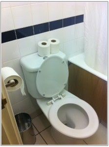 イギリスで泊まったホテルのトイレ