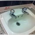 イギリスで泊まったホテルの洗面所