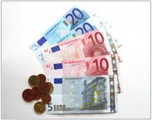 ユーロのお金